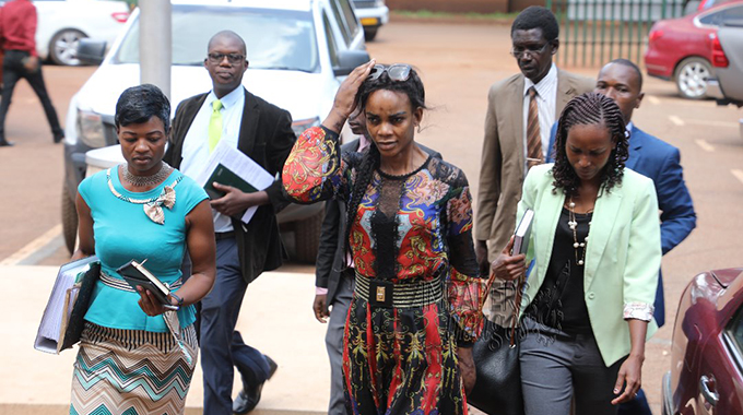Domestic Violence: Zimbabwean Vice President Drags Wife To