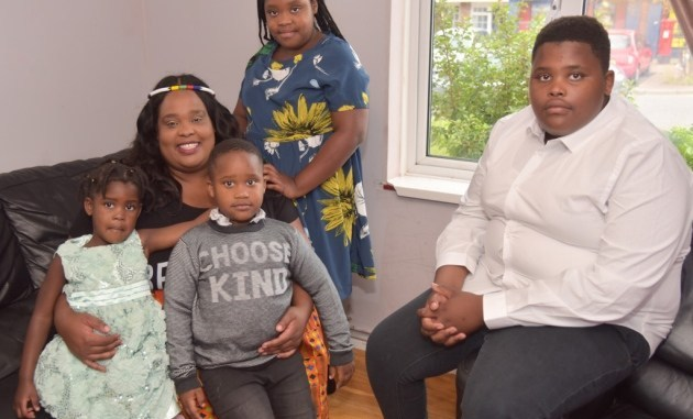 Enala has spoken out about her experiences raising her children in Suffolk. Picture: SONYA DUNCAN
