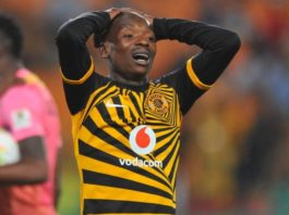 Khama Billiat has been out of the game for three months now; File Photo