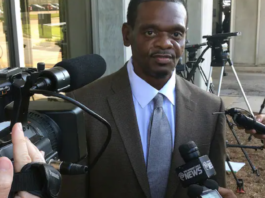 Henry McCollum walks out of prison in 2014 in Raleigh,
