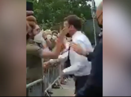 France's Macron Slapped By Man He Tried To Shake Hands With