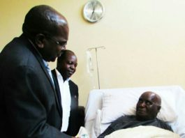 President Kenneth Kaunda was once hospitalized in 2017 and recovered